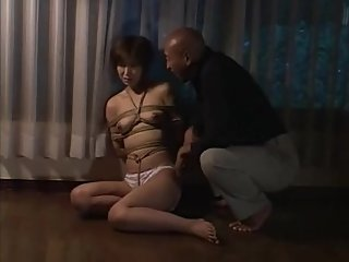Whip Jap MILF slave Mio & fed her like a dog