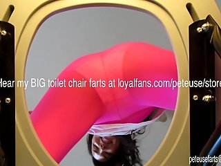 Girl Farts on You From Her Toilet Chair Peteuse Cute Farts