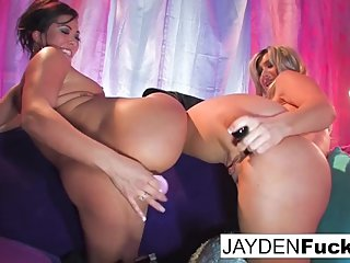 Gorgeous Jayden Jaymes And Exotic London Keyes fuck!