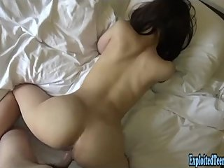 Half Japanese Babe Sasaki Fucks Uncensored Sucks And Fucks Thick Labia