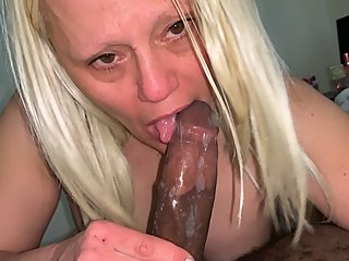 Barbie Blaze Deep throats then gets pounded by BBC