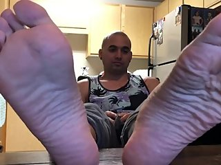 Feet, Soles and Toes (size 10) Asian boy mixed