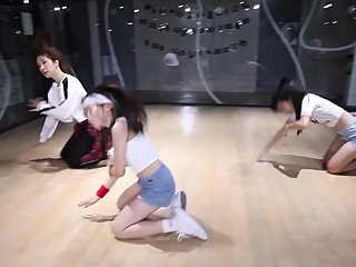 Hot Horny Sexy Dance Kpop Girlband Asian Teen Twerk Fancam S6 - Han Byeol