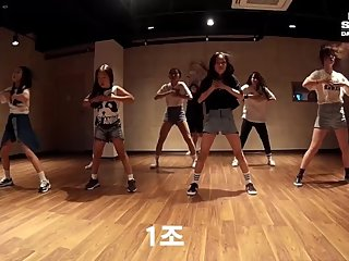 Hot Horny Sexy Dance Kpop Girlband Asian Teen Twerk Fancam S4 - Han Byeol