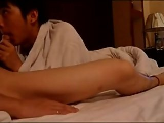 Chinese Boyfriends Fuck in Hotel