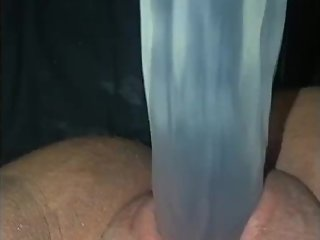 Riding and fucking myself with dildo