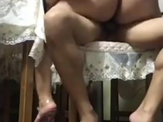Chinese MILF -  Big Ass Fuck Small Penis