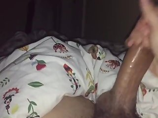 Asian roommate caught me jerking off and sucked my dick instead