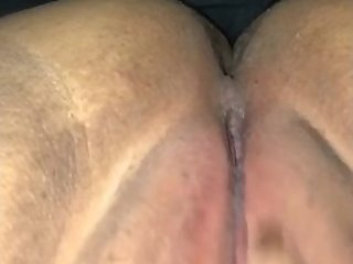 Rubbing my wet pussy