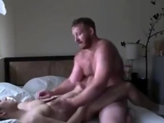 Big Diked Daddy Uses A Tight Asian