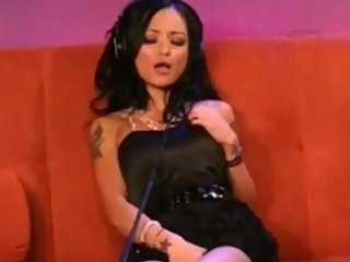 Tila Tequila Rides The Sybian On Howard Stern