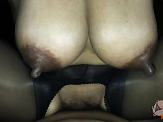 Big tits thai riding my dick