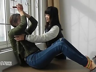 Chinese Girls Tickling & Revenge