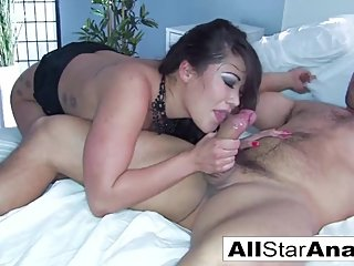 London Keyes Takes Ramon's Big Cock In Her Sexy Tight Ass!