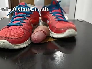 Filipina cock crush torture