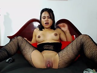 Asian ass queen lovin black rod